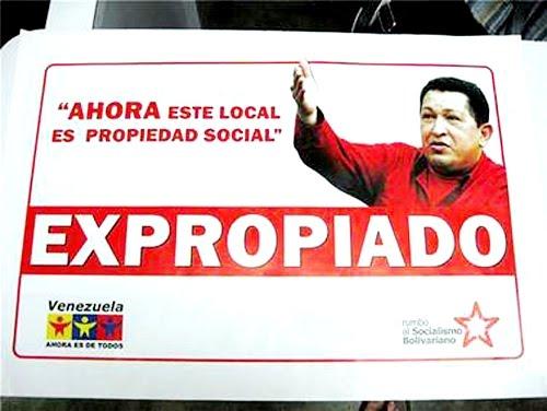 Expropiaciones de Hugo Chávez Frías