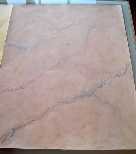 Ana gonzalez 01 01 2010 02 01 2010 - Pintura efecto marmol ...