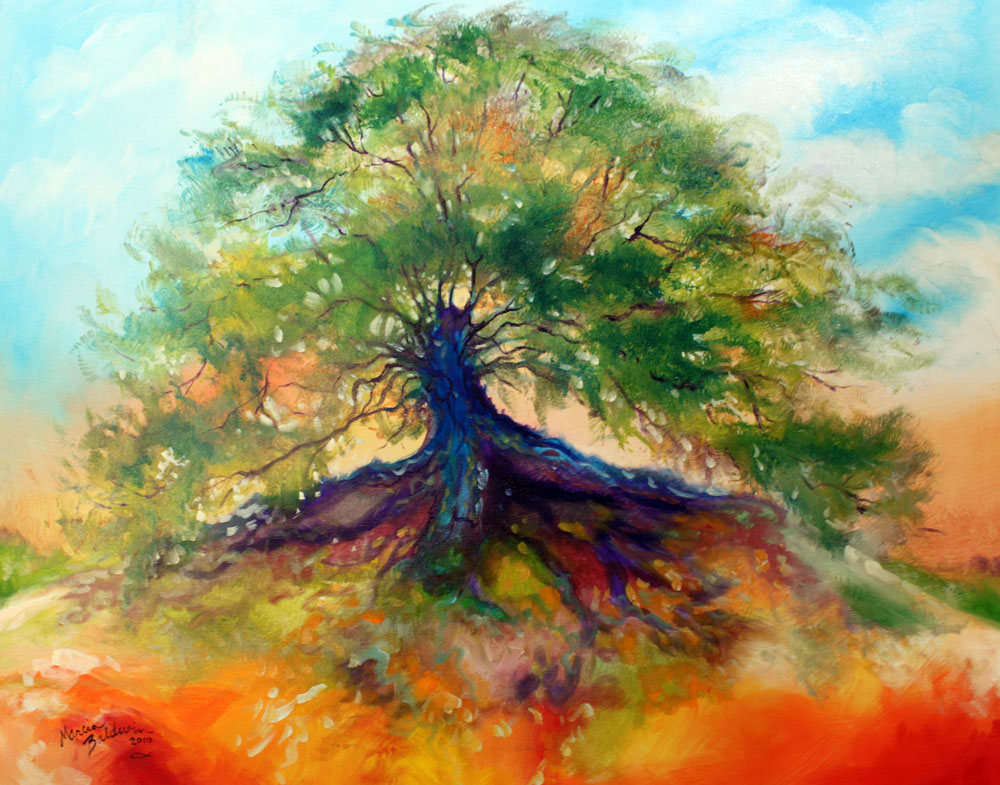 Daily Paintings Fine Art Originals By Marcia Baldwin Tree Of Life