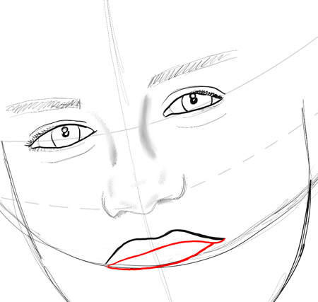 how to draw cartoon sunglasses