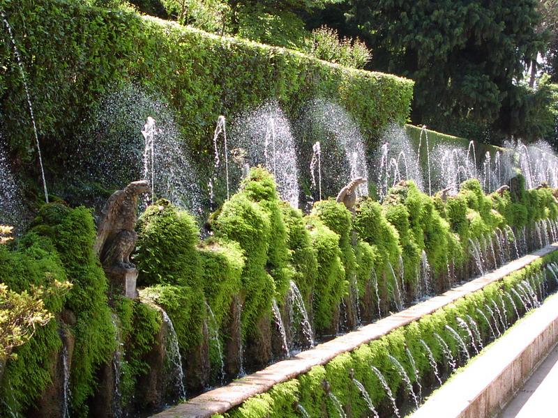 Jardines europeos con encanto for Jardin villa d este
