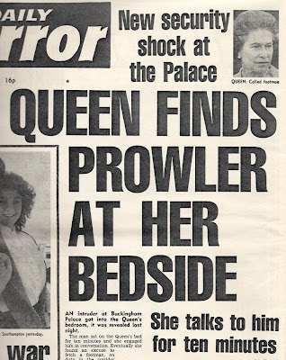 Today in history… intruder breaches Queen's bedroom