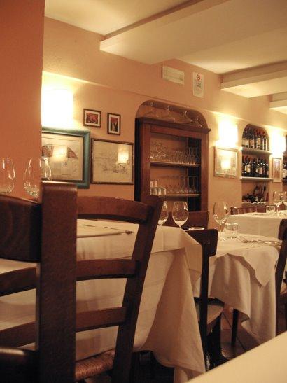 O restaurante.