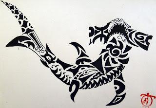 Tatouage Requin Signification - Tatouage Requin Banque D'Images 123RF
