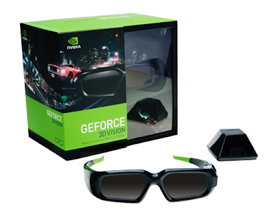 The GeForce 3D vision glasses set from nVidia (The future is 3D)