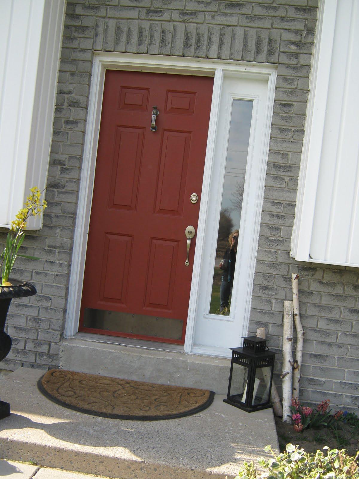 Burnt Orange Front Door Thenest
