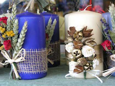 IDEAS Decorar Velas