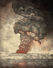 Eruption du Krakatau en 1883
