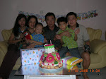 Clay shared birthday cake with Bobo Ie Djang