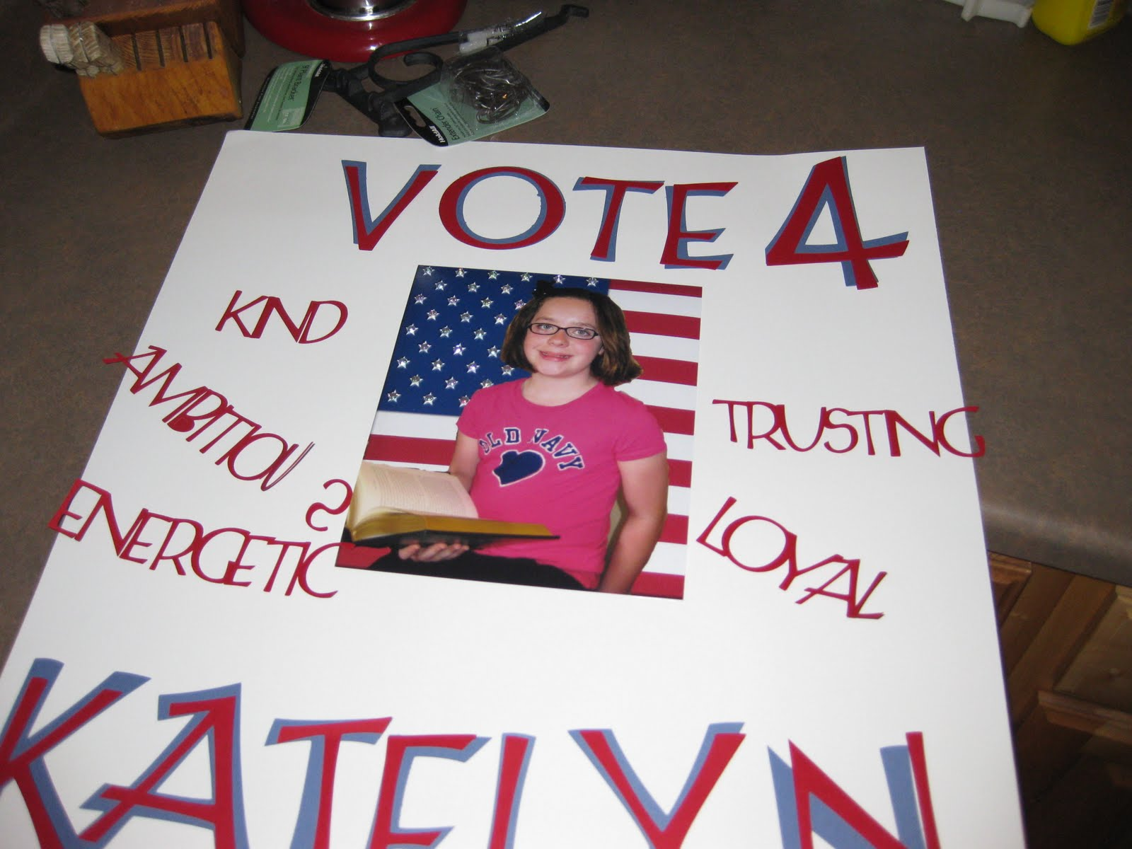 Elementary Class President Poster Ideas http://4growingboys.blogspot.com/2010/09/student-council-posters-project-33-of.html
