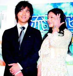 Vic Zhou and Barbie Hsu