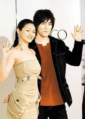 Vic Zhou and Barbie Hsu: Mars promo in Japan