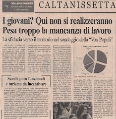 Quotidiano di Sicilia del 27/03/2008
