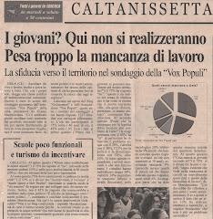 Quotidiano di Sicilia del 27/03/2008