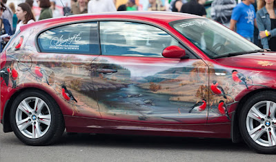 Amazing Air Brush Car Photo Seen On www.coolpicturegallery.us