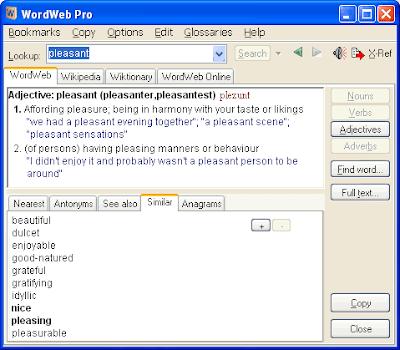 الاصدار الاحدث من Word Web Pro 5.1