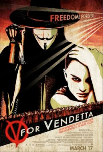 V For Vendetta DVDRip Dual Audio English - Hindi Dubbed Download MEDIAFIRE Links natalie portman