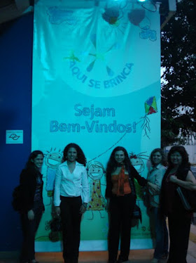 Representantes da escola no Citibank Hall