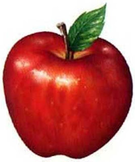 tutorial ilustracion digital : la clasica manzana