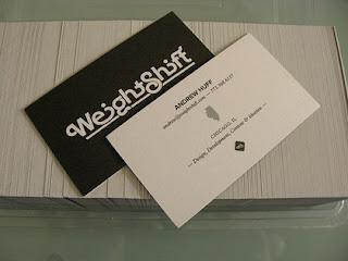 tarjeta de visita creativa