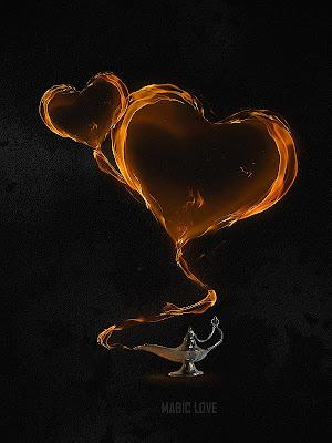 efecto fuego photoshop