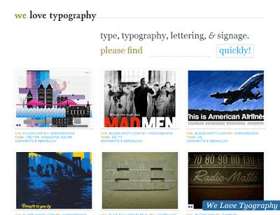inspiracion para  fuentes tipograficas