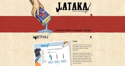 ejemplos de diseño web con ilustraciones