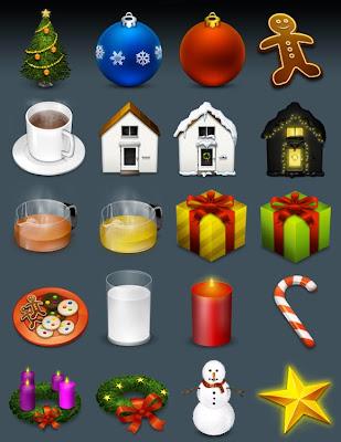 iconos navideños