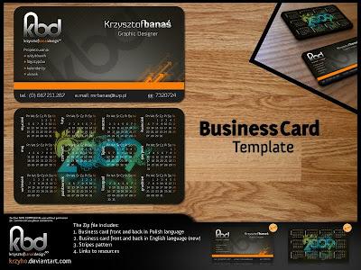 tarjeta personales plantilla