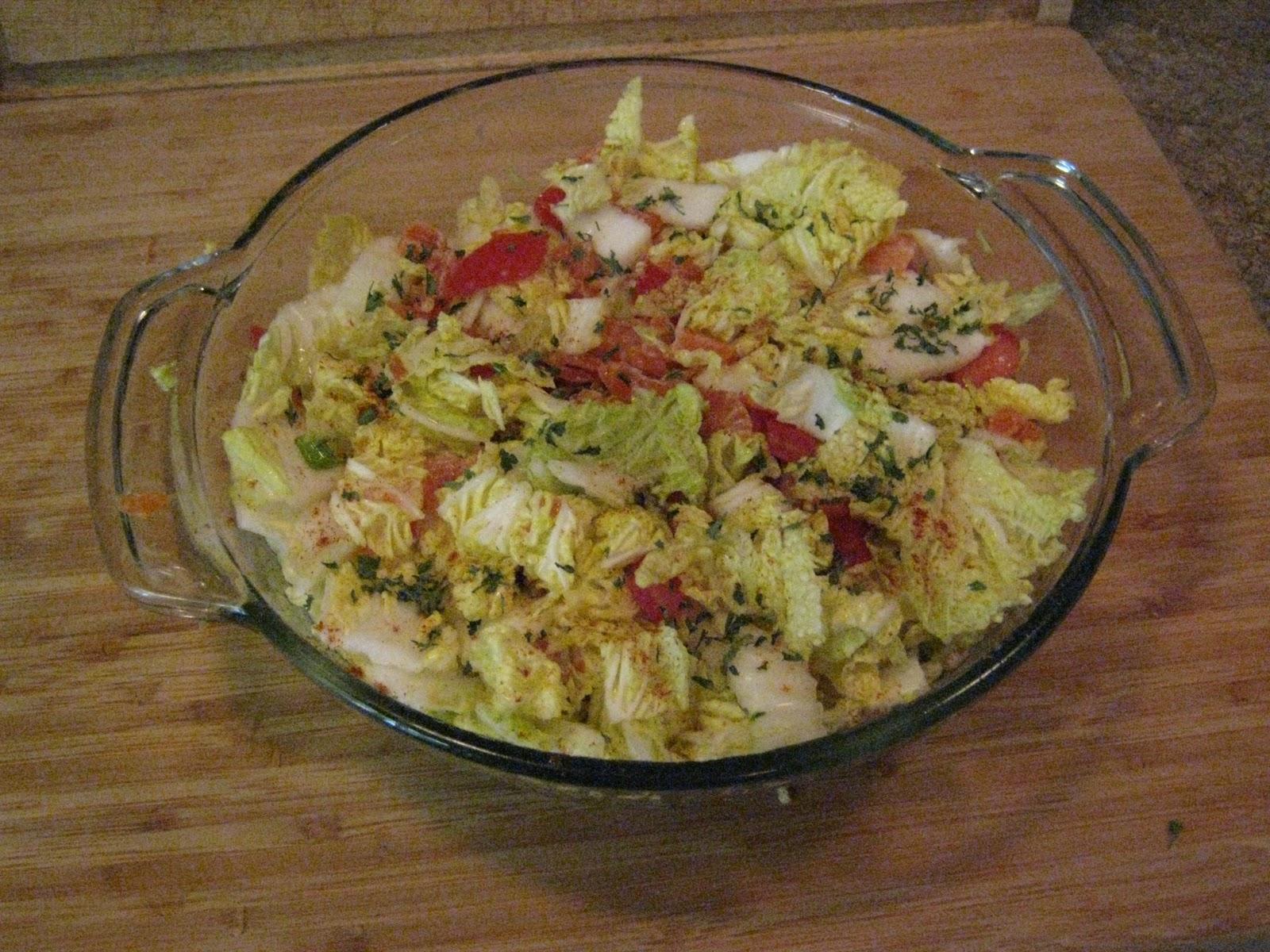 The left handed chef salt cured salmon salad for Salt cured fish
