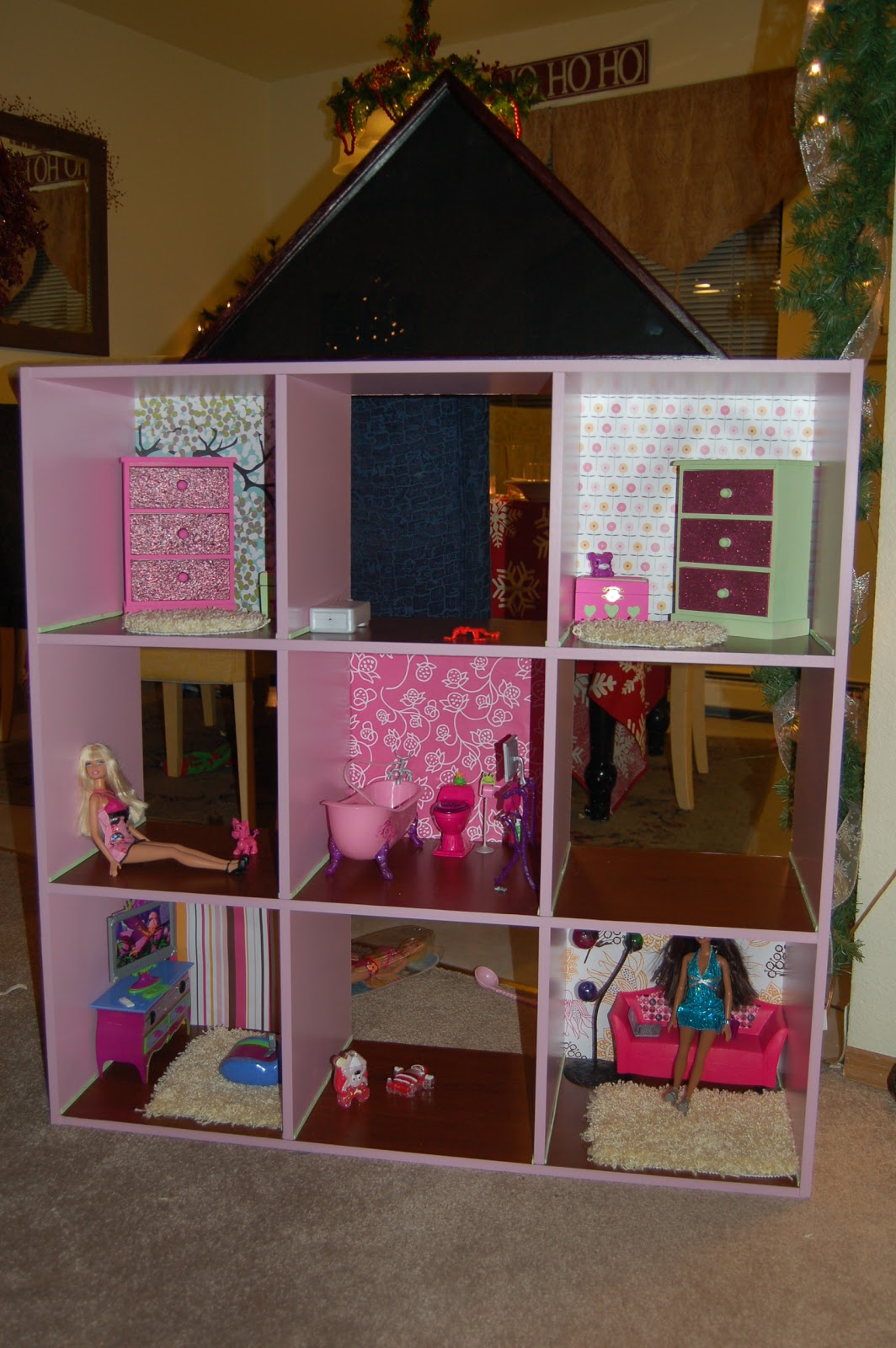 Annette 39 s notes how to make a barbie dream house Build my dream house