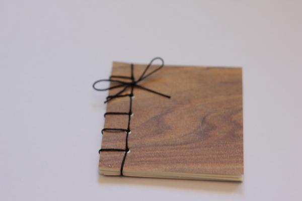 Как сделать блокнот на нитках