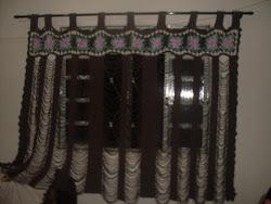 cortina marrom