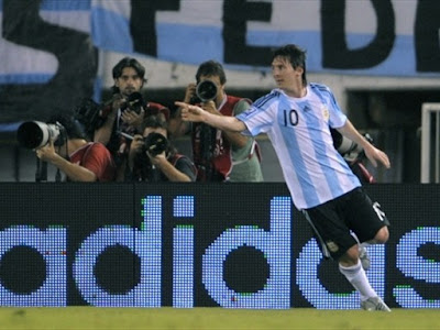 lionel messi 2009 argentina. Barcelona player Lionel Messi