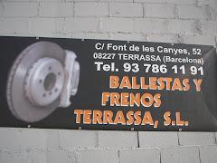BALLESTAS Y FRENOS TERRASSA, SL.