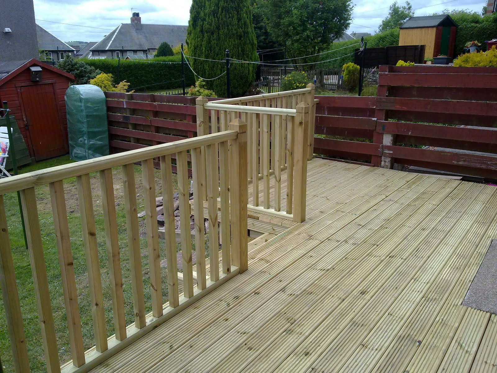 frazer jess joinery and maintenance l shape raised garden