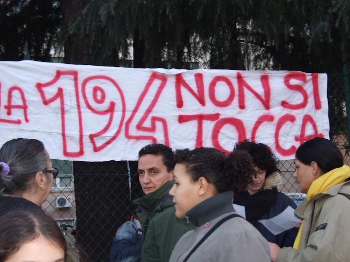 La 194 non si tocca!