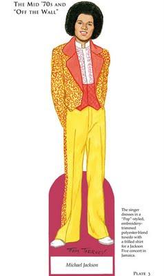 Michael Jackson Paper Doll