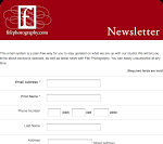 Sign up for our free newsletter!