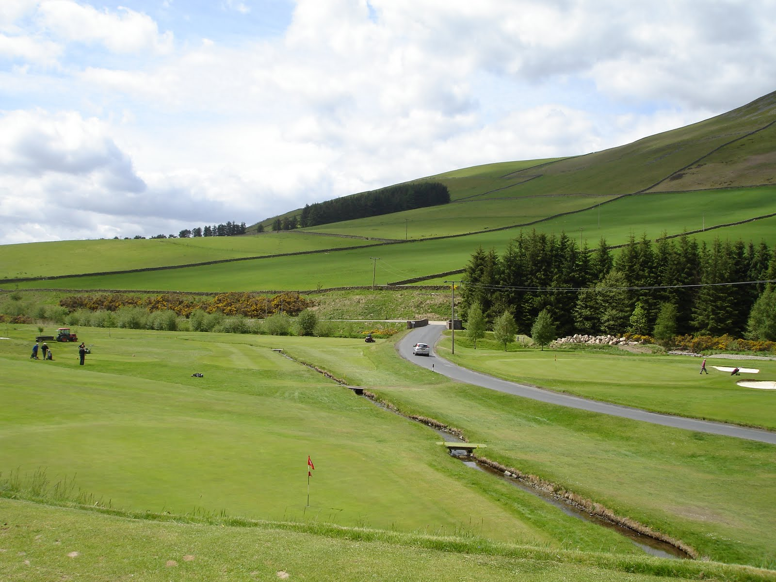 Innerleithen Golf Club june 2010