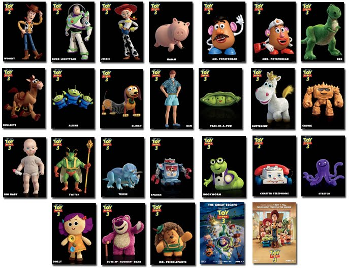 the gallery for gt toy story 1 characters pictures and names