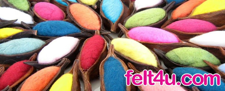Felt4u | Felt Jewelry  | Felting Techniques & More