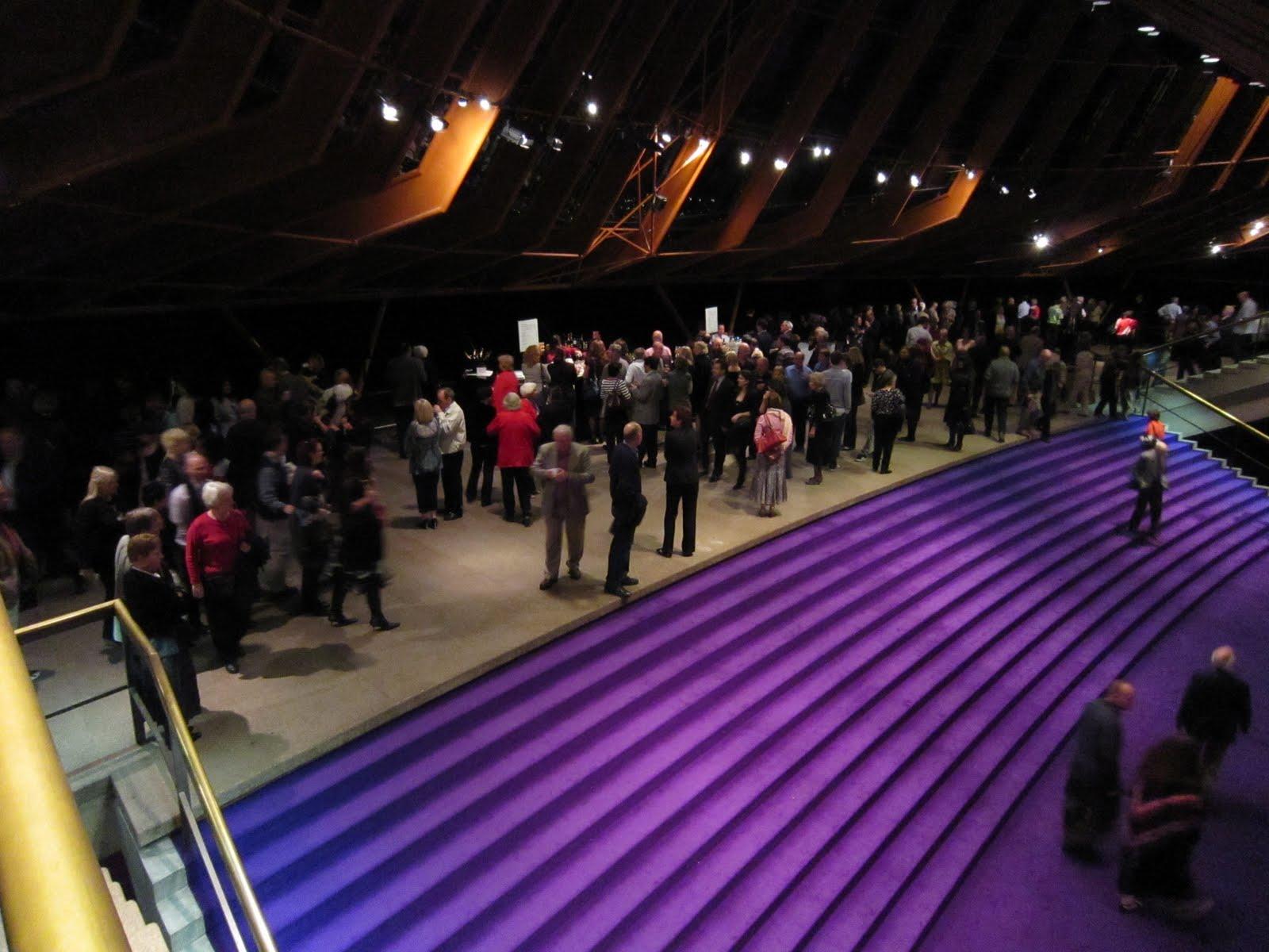Sydney Opera House Northern Foyer : My ordinary life last night at the opera house