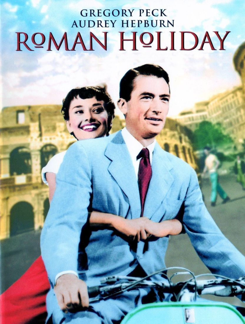 audrey hepburn roman holiday Title details and video sharing options now playing princess anne (audrey hepburn) doesn't know that reporter joe (gregory peck) and his photographer buddy (eddie albert) know her true identity, and they don't expect her to drive the scooter, thus this famous on-location romp, largely with stunt riders, in william wyler's roman holiday , 1953.