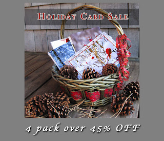 Holiday Greeting Card 4 Pack Sale