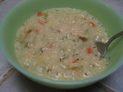 Chicken and Rice Chowder