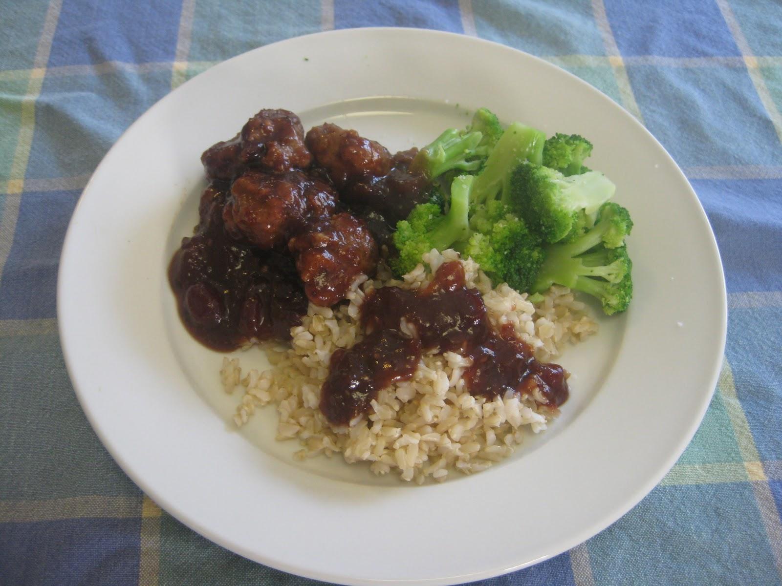 Heidi's Recipes: Turkey Cranberry Meatballs Recipe