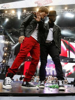 Foto de Justin Bieber e Rapper