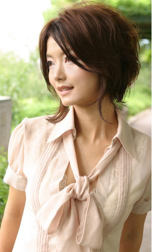 Hairstyle For Narrow Face. cute short black hairstyles.