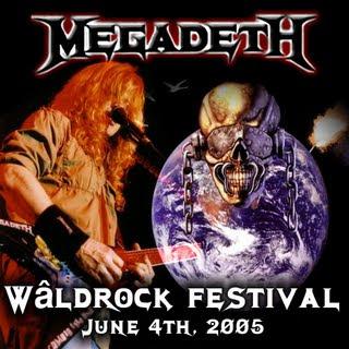 Megadeth - 2005-06-04 - Bergum, Holland Front